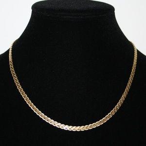 """Vintage gold necklace 18.5"""""""